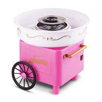 Zuckerwattemaschine Trolley Retro Zuckerwattegerät Herstellung von Zuckerwatte 500W-OV