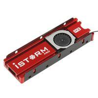 Halbleiterscheiben-Wärmeableitung NVME NGFF M.2 SSD-Kühlkörper mit Lüfter Berlin1