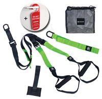 Schildkröt-Fitness Sling Trainer, Schlingentrainer für ein perfektes Ganzkörpertraining, schnelle und einfache Montage, inkl. Türanker und Tragetasche