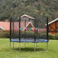 Super Jumper Trampolin 305 cm | Gartentrampolin | Outdoor Trampolin | Sicherheitsnetz mit Stabilitätsring | Belastbarkeit 150 kg