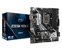 ASRock B365M PRO4-F - Intel - LGA 1151 (Socket H4) - Intel® Core™ i3 - Intel Core i5 - Intel Core i7 ASRock
