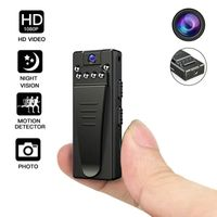 1080P tragbare Mini-Kamera, um 360 Grad drehbare Infrarot-Webkamera Bewegungssensor Motion Action Mini-Kamera