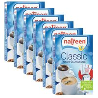NATREEN Classic Tabletten Süßstoff 6 x 1500er Nachfüllpack Refill Tafelsüße