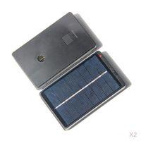 2Pcs 4V 1W Solar Pannel Batterieladegerät Für