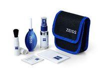 Carl Zeiss Lens-Cleaning Kit Objektivreinigung Reinigungstücher mit Flüssigkeit, Mikrofasertuch, Pinsel, Blasebalg