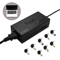 Universal Laptop Netzteil mit AC/DC Adapter 96 W, 8 Aufsätze, Eaxus