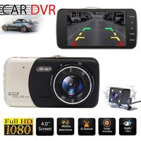 Audew HD 1080P 4 '' Auto DVR Doppelobjektiv Video Recorder Dashcam Auto Kamera G-Sensor Dash Cam Nachtsicht