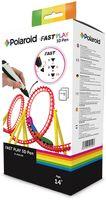 Polaroid Fast Play 3D Pen, Polyacticsäure (PLA), Schmelzfadenherstellung (FFF), 1,75 mm, Schwarz, Weiß, 32 mm, 33 mm