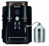 Krups EA 8250 Vollautomatische Espressomaschine, freistehendes Gerät, Kunststoffgehäuse, 1450 Watt, 15 Bar, 1,8 l FÃ1/4llmenge, 275 g Bohnenbehälter, Tassenwärmer, Integriertes Mahlwerk, Milchaufschäumer, Wasserfilter, Abschaltautomatik, Reinigung + Entkalkungsfunktion