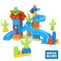 Mega Bloks Guck-Guck Unterwasser-Abenteuer, Kinder-Spielzeug, Bauset, Bausteine