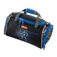 Step by Step Kinder Sporttasche mit Nassfach Reise Tasche Sportsbag, Farbe:Strong Robot