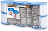 INTEX 29011 Typ S1 PureSpa Easy Set Ersatzfilter für Pool Spa Whirlpool 6 Stück