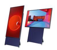 Samsung GQ43LS05TAUXZG QLED 4K The Sero 43' Rotierender Bildschirm blau