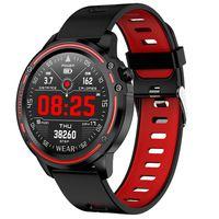 L8 Smart Sports Watch IP68 Wasserdichtes EKG PPG Blutdruck Herzfrequenzmonitor,Farbe: