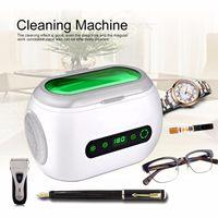 600ML Ultra sonic Reiniger LED Digital Timer Schmuck Teile Brillen Ultra sonic Waschmaschine Ultraschall Reinigung
