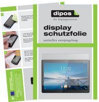 2x Lenovo Tab M10 HD Schutzfolie matt Displayschutzfolie Folie Display Schutz