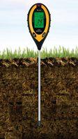 Digitales Bodenmessgerät 4-in-1 Bodentester X4-Life - pH-Wert, Feuchtigkeit,Temperatur des Bodens sowie die Lichtintensität des Standorts
