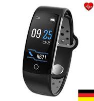 Smartband Q6 Puls Blutdruck Herzfrequenz Fitness Tracker Smartwatch Sportuhr Uhr
