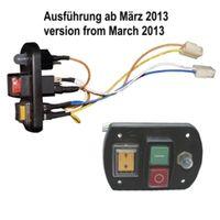 ATIKA Ersatzteil Ein-Aus-Schalter (ab 03/13) für Gartenhäcksler ALF 2600 **