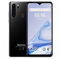 Blackview A80 Pro Smartphone ohne Vertrag, 4G LTE 6,49 Zoll  Smartphone, 4GB RAM+64GB ROM, 4680mAh Akku, 13MP+8MP Kamera, Dual SIM Handy Android 9.0, WLAN 5G, Fingerabdruck, Face ID