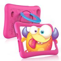 VANKYO Z1 Upgrade Tablet für Kinder 7 Zoll Kinder Tablet mit Kindersicherungsmodus, 32 GB Speicherraum, Android 10, Dual 2Mp Kamera, Rosa Hülle, 7 Zoll Kinder Tablet für Mädchen