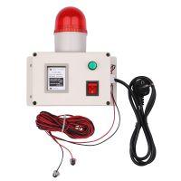 Wasserstandsanzeigealarm Wasserstandalarmsensor Wasserleitungsanzeigealarm Alarm fuer niedrigen oder hohen Wasserstandsensor mit Schalldaempferschalter