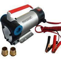 Monzana Dieselpumpe 40L/Min 12V 160W selbstansaugend inkl. Zubehör - Absaugpumpe Heizöl