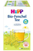 HiPP Teegetränke im Aufgussbeutel,Fenchel-Tee, DE-ÖKO-037 - VE 30g (20x1,5g)
