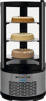 Kuchenvitrine, 100 Liter Modell SARINA, Maße: B 480 x T 480 x H 1030