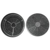 PKM 50007 Kohlefilterset CF 110 passend für Dunstabzugshauben 6090H, 9090 H, UBH 4060-2 H, schwarz, 2-teilig (1 Set)