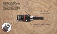"""Bit - Magnethalter 1/4"""", mit Ringmagnet Zugkraft 2kg , Bithalter"""