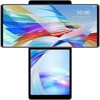LG Wing Illusion Sky Android 10.0 Smartphone - - 128 GB - Smartphone - 128 GB