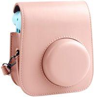 Schutzhülle und tragbare Tasche Kompatibel mit Fujifilm Instax Mini 11 Sofortbildkamera mit Zubehörtasche (Rosa)