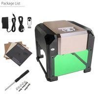 MUSTOOL 3000mw DIY Laser Graviermaschine Gravurmaschine USB 3D Engraver Drucker