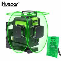 Huepar 903CG 12 Linien 3D Cross Line Laser Level Grün Laser Strahl Linie Selbst Nivellierung 360 Vertikale und Horizontale Kreuz super Leistungsstarke