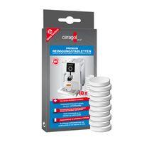 ceragol ultra Reinigungstabletten für alle Kaffeevollautomaten und Espressomaschinen, 10 Stück
