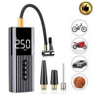 12V Mini LCD Elektrische Luftpumpe Autoreifen Druckluft Fahrrad Kompressor Auto Elektrische Luftpumpe Auto Reifen