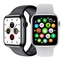 W26 Damen- Herren Smartwatch   Pulsmesser Fitness  für Android iOS Weis