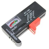 LCD Digital Akku Batterietester Knopf Tester für AA/AAA/C/D/9V Knopfzellen Re-