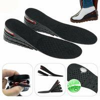 1 Paar 7cm PVC Erhöhung Einlegesohle Schuh Einlagen Schuheinlagen