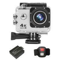 HD Sport-Action-Kamera Wireless-Fernbedienung DV-Camcorder Videokamera Camcorder (Silber)