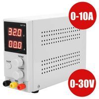 Regelbar Digital Labornetzgerät Trafo DC-Netzteil 0-30V 0-10A Power Supply super
