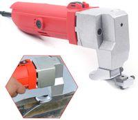 Elektrische Blechschere, 500W Metall Schere, 2.5mm Blechschere Werkzeuge, Elektroschere Geeignet zum Schneiden von dünnen und Metallplatten