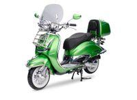 Retro Roller Motorroller EasyCruiser grün metallic 50 ccm
