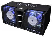 Hifonics MXZ12 Dual Bandpass Subwoofer Kiste 2 x 30 cm 4000 Watt max. 4 + 4 Ohm