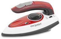 Exquisit BR 3101 wer Bügeleisen | Reisebügeleisen | umschaltbare Spannung | Weiß-Rot