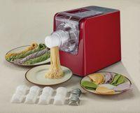 Sirge PASTAMAGIC Nudelmaschine Nudel Vollautomat 300W Pastamaschine Nudelautomat Pastaautomat Pasta Automat inkl. 14 Nudelgitter