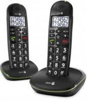Doro Phone EASY 110 DUO Strahlungsarmes Schnurlostelefon, Rufnummernanzeige, Freisprechfunktion, DECT