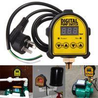 Digital Pumpensteuerung Pumpenschalter Druckschalter Ein/Aus 0-10Bar 220V AC