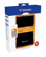 Verbatim VB-25U3-01T01, Schwarz, SATA, USB, Linux kernal 2.6, 80 x 121 x 15 mm, Windows 2000, Windows 2000 Professional, Windows 7 Home , Windows 7 Home  x64, Windows